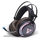 FANTECH RGB多彩燈效立體聲耳罩式電競耳機(HG12)