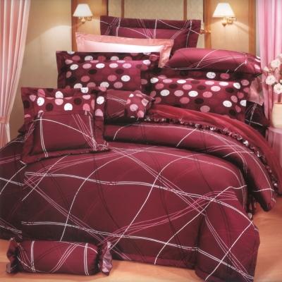 艾莉絲-貝倫 幸福的樂章 100%純棉 單人鋪棉床罩五件組