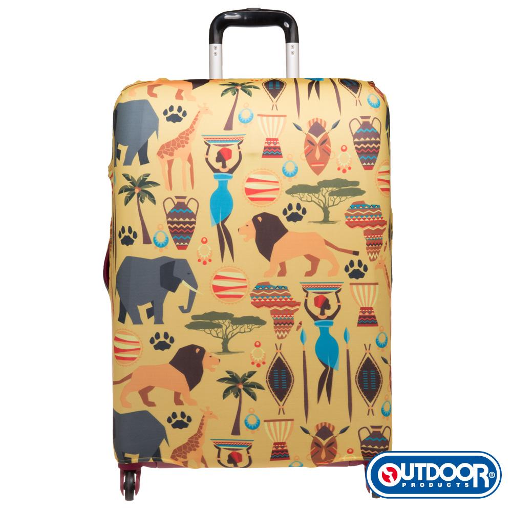 OUTDOOR-行李箱保護套-埃及圖騰-M-ODS16B10MET