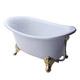 【I-Bath Tub精品浴缸】安妮公主-品味金(140cm) product thumbnail 1