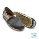 TOMS 經典學院風懶人鞋-女款(灰)