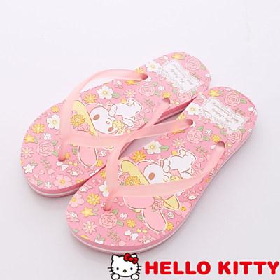 Hello Kitty-美樂蒂40週年夾腳款-15070粉(女段)