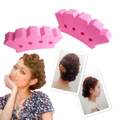 kiret日系 辮子編髮 編髮器套組~髮型立體感波希米亞風