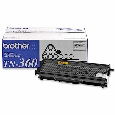 Brother TN-360 原廠碳粉匣
