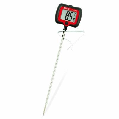 Dr.AV 加長型旋轉大螢幕精準溫度計-黑(GE-39R)/2入