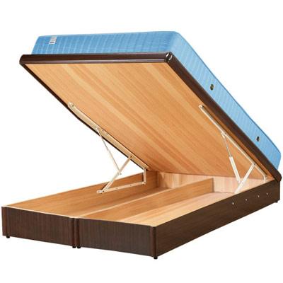 Homelike 麗緻6尺掀床+獨立筒床墊-雙人加大掀床(四色可選)