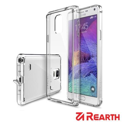 Rearth 三星 Galaxy Note 4 高質感透明保護殼(附保護貼)