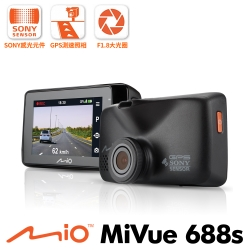Mio MiVue 688S 大光圈GPS行車記錄器-急速