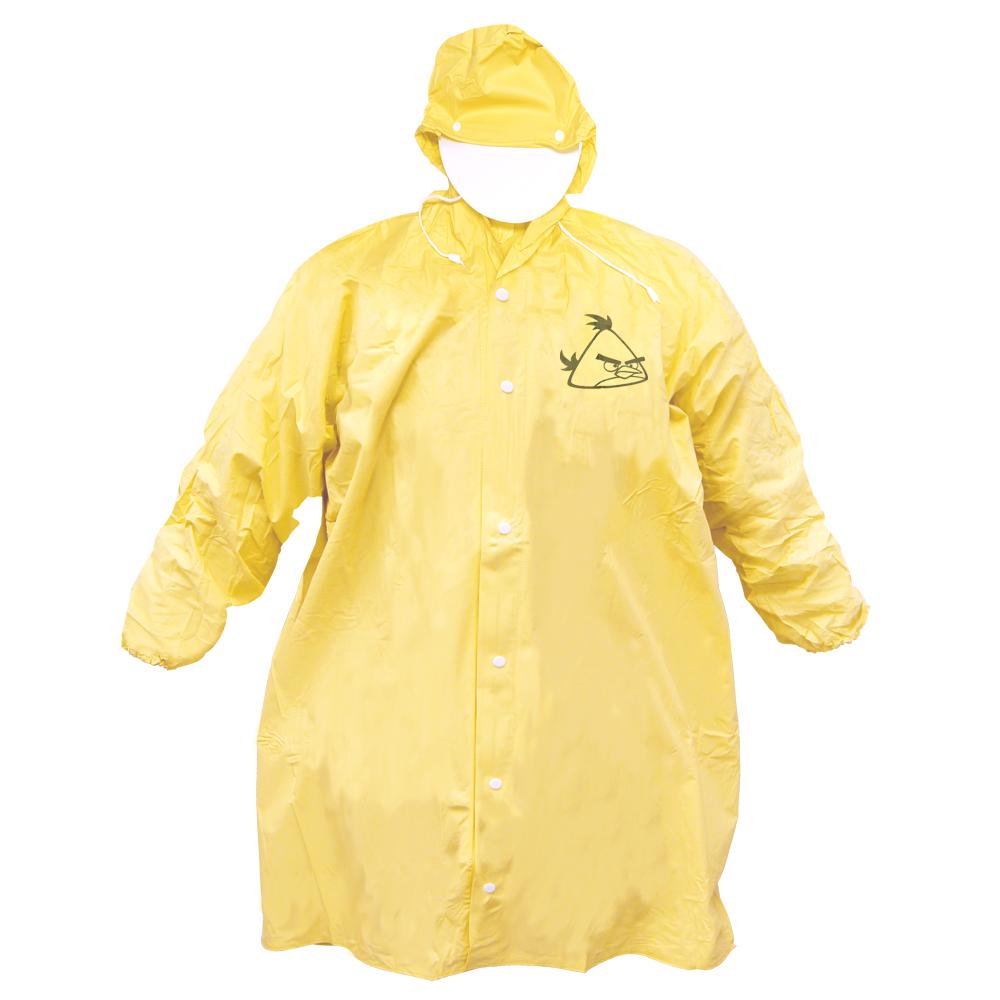 [Waterproof] 憤怒鳥全開式PVC兒童雨衣