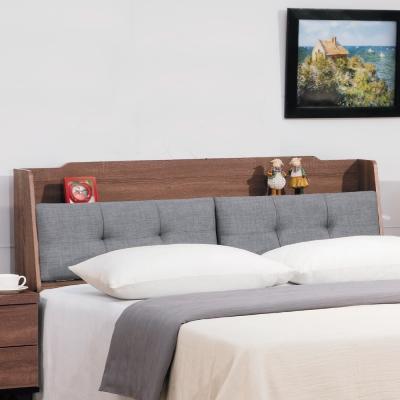 床頭箱 雙人加大6尺 麥得森淺胡桃色 品家居