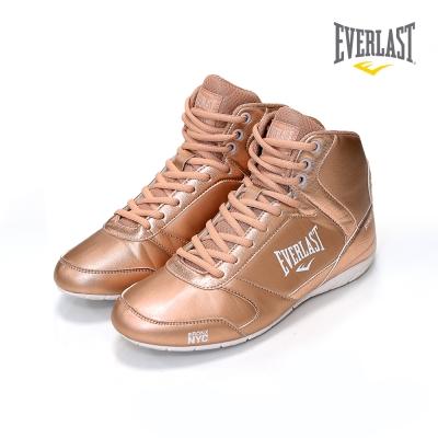 EVERLAST 美國運動品牌-專業拳擊鞋-女-玫瑰金