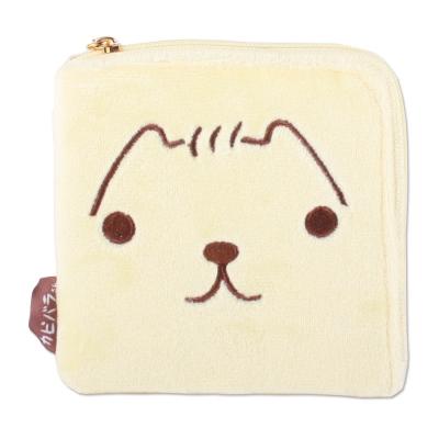 Kapibarasan 水豚君系列毛絨方型零錢包(L)陽光君