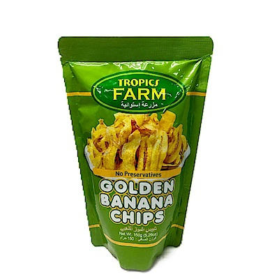 TROPICS FARM 香蕉脆片(150g)