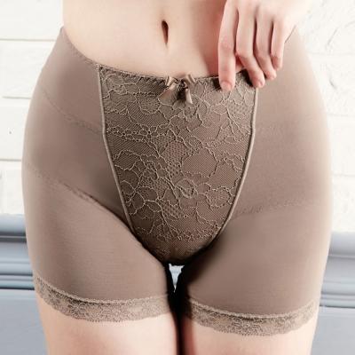 推EASY SHOP-微整佳人 高腰平口骨盤修飾褲(可可棕)