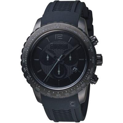 WENGER Roadster黑夜騎士計時腕錶( 01.0853.111)黑/45mm