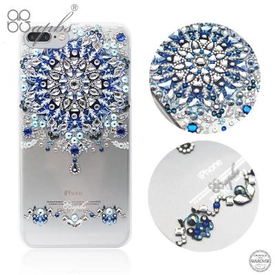 apbs iPhone8/7 Plus 5.5吋施華洛世奇彩鑽手機殼-冰雪情緣