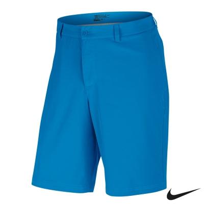 NIKE 排汗 運動 休閒 素面 短褲-藍725703-406