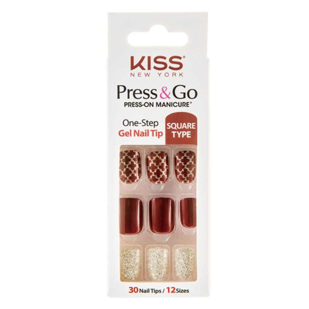 美國 KISS New York-指甲貼片(PNG03K名不虛傳)