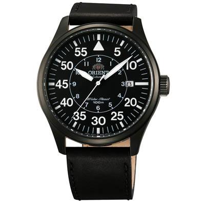 ORIENT 東方錶 聖杯騎士 機械錶(FER2A001B)-黑/42mm
