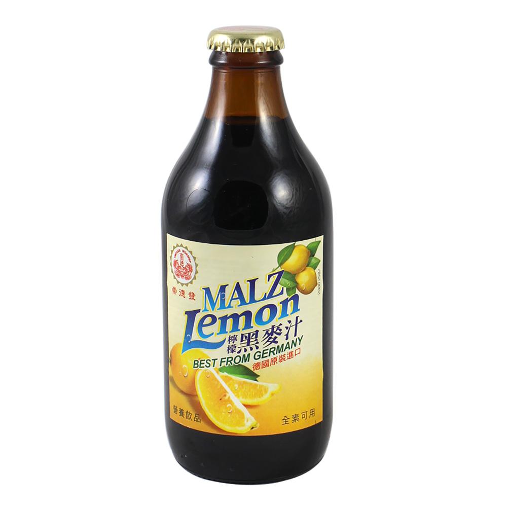 崇德發 檸檬黑麥汁(330mlx6瓶)