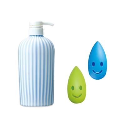 【MARNA】個性化條紋補充瓶牙刷套2入組