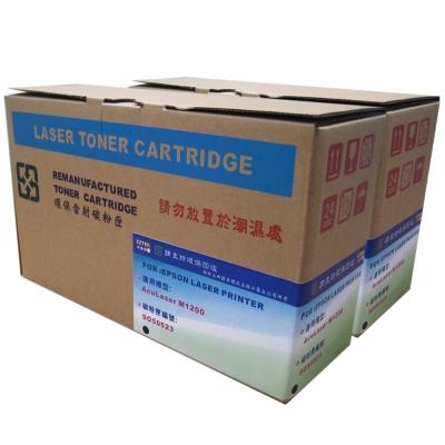 EZTEK EPSON S050523 黑色高容量環保碳粉匣(雙包裝)