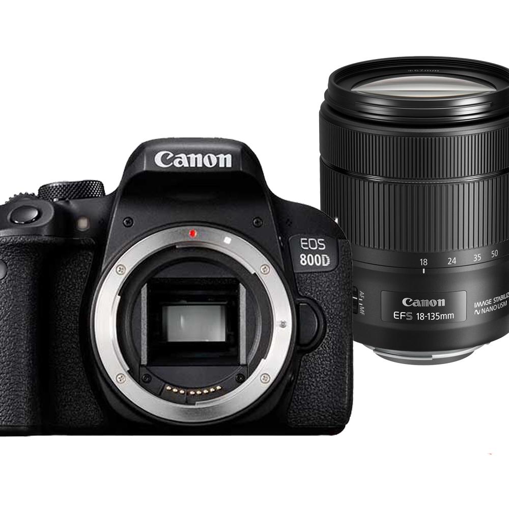 Canon 800d+18-135MM IS USM 單鏡組*(平輸中文)