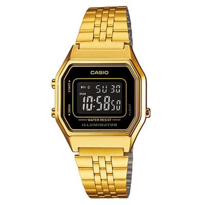 CASIO 經典復古數字型電子錶/時尚指針錶多色任選