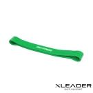 Leader X 運動健身彈性環狀阻力帶 伸展拉力圈 綠色25-70磅 -急