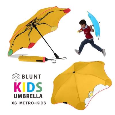 【紐西蘭BLUNT 保蘭特】可變色安全兒童傘 – 折傘 (糖果黃)