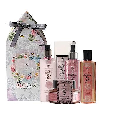 Bath & Bloom 漫步玫瑰園花漾禮盒