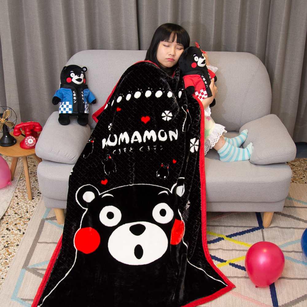 Kumamo讚嘆KUMA 頂級加厚法蘭絨休閒毯