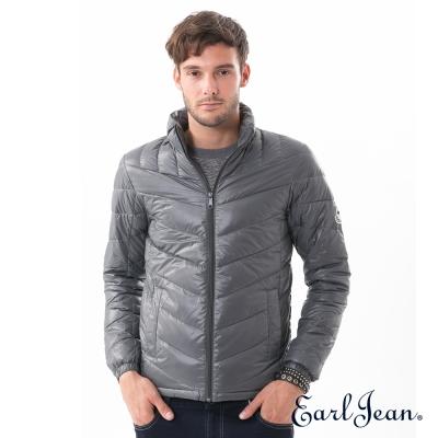 Earl Jean 超輕量立領羽絨外套-灰色-男