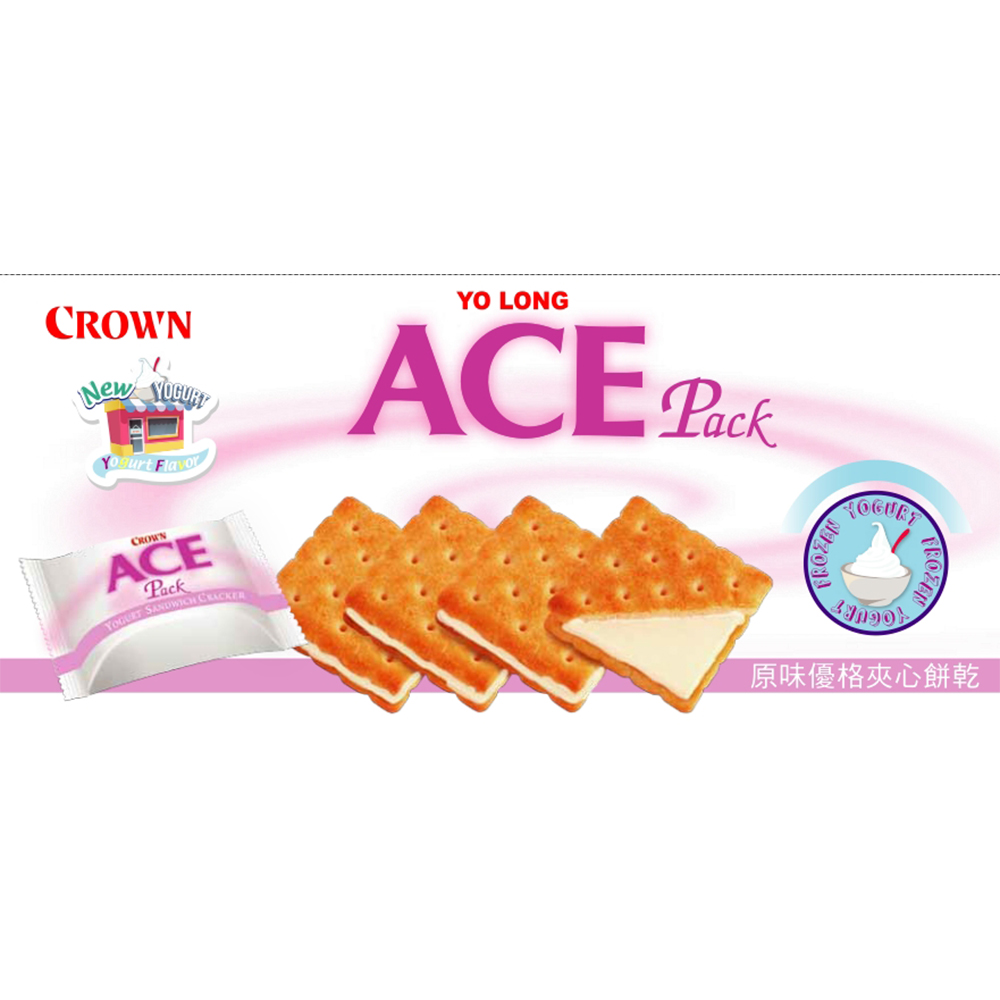 ACE 優龍優格夾心餅乾(125g)