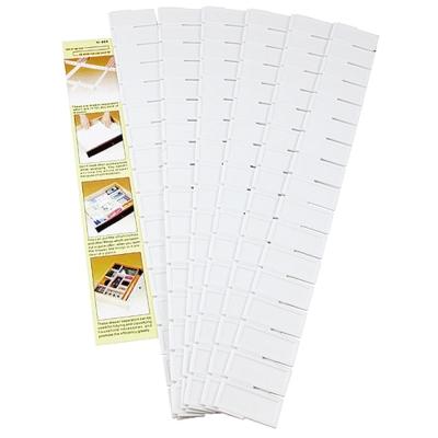 多用途抽屜分類置物高5公分隔板6片入(YI-008)