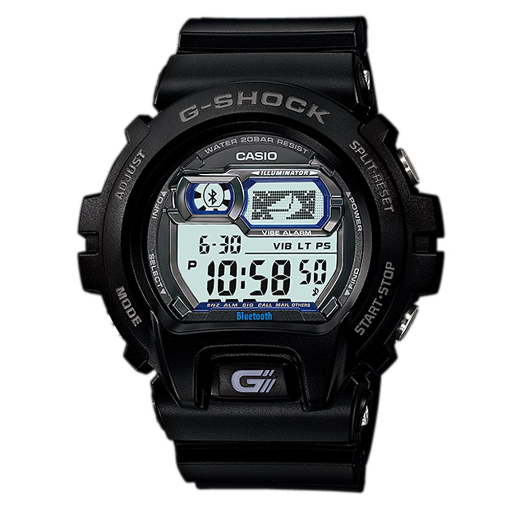 G-SHOCK 第二代科技新寵藍牙連結概念錶-黑/54mm