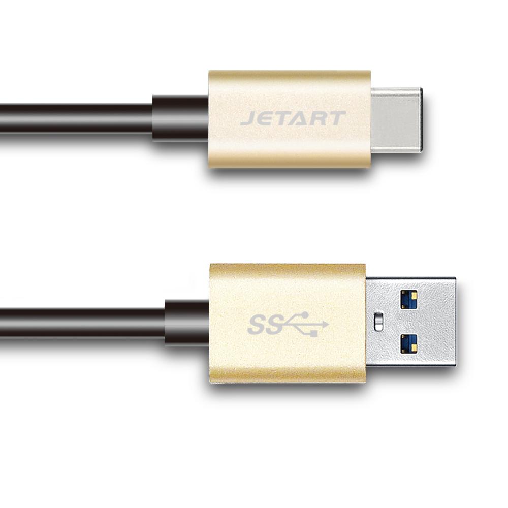 JETART USB 3.0 A to TYPE-C 極速傳輸線 1.8米