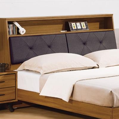 床頭箱 雙人加大6尺 特伊被櫥式床頭 品家居