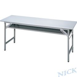 NICK CPA美耐板檯面灰色會議桌(180×45)