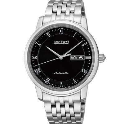 SEIKO-Presage-羅馬時光機械腕錶-SR