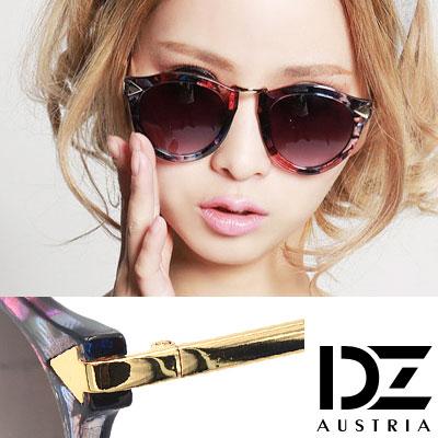 【2件59折】DZ 個性箭矢 抗UV太陽眼鏡造型墨鏡(花樣系)