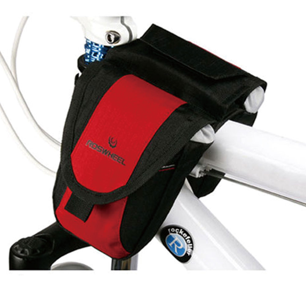 PUSH!自行車用品 自行車前置物袋 車前袋 上管袋 車前包(附防雨罩)