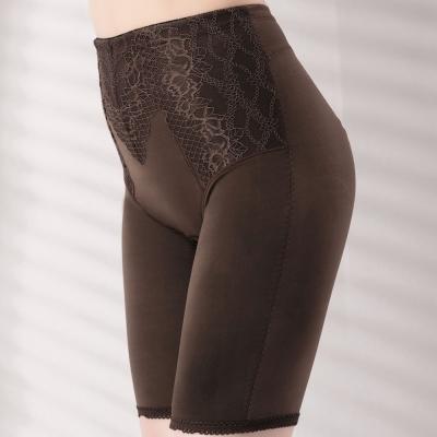 思薇爾 塑美波系列輕機能高腰長筒束褲(醇品褐)