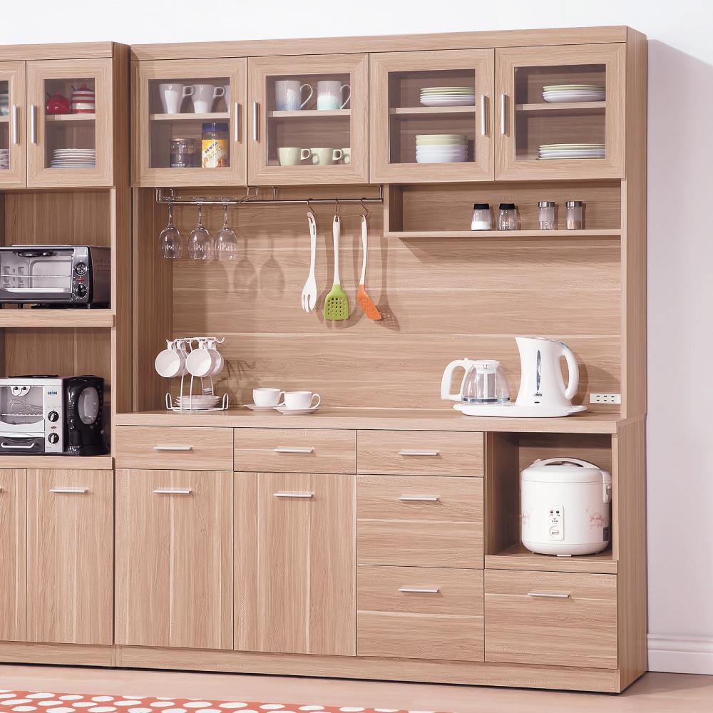 AS-蘭斯原木色5.3尺餐櫃-40.5x161x200cm