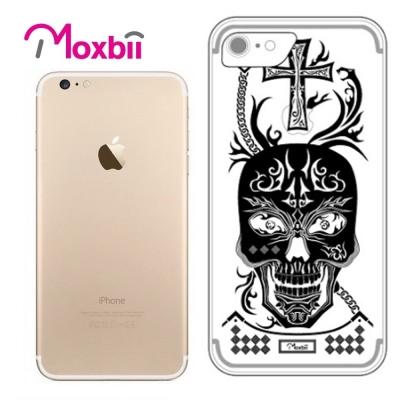 Moxbii iPhone 7 4.7吋 simpOcase光雕殼-魔炎骷髏