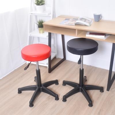 凱堡 馬卡龍特規20公分 皮革旋轉升降椅