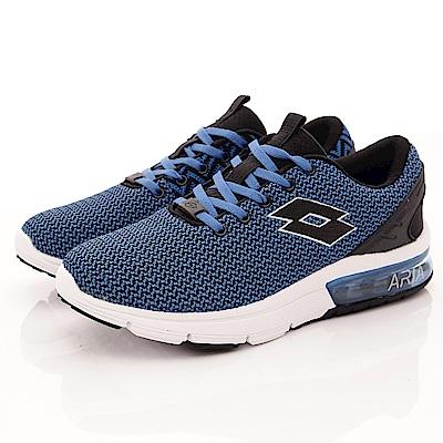 Lotto樂得-編織緩震氣墊跑鞋-RSI586深藍(男段)