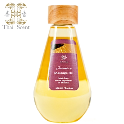 ThaiScent泰香 天然SPA按摩/保養油-茉莉250ml