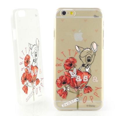Disney iphone 6 /6s 彩繪手繪風透明保護手機殼-斑比系列