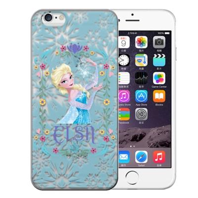 迪士尼原版授權冰雪奇緣iphone6 4.7 TPU保護殼